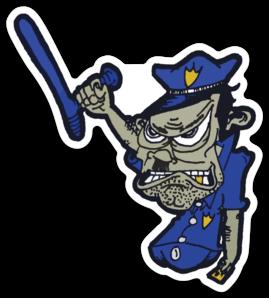 revoked Hitler cop sticker
