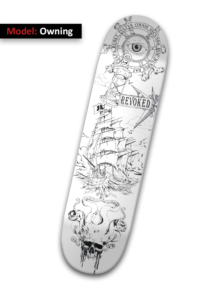 Model: Owning - Skateboard Deck