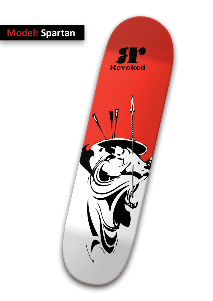Model: Spartan - Skateboard Deck