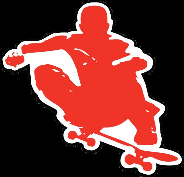 revoked tucker skater ollie sticker